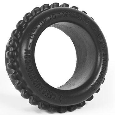 Keep Burning Grinder Ring, черное Эрекционное кольцо оригинальной формы