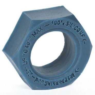Keep Burning Эрекционное кольцо, синее В форме гайки