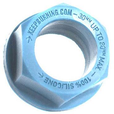 Keep Burning Lock Nutt, голубое Эрекционное кольцо оригинальной формы