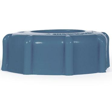 Keep Burning Drain Ring, синее Эрекционное кольцо оригинальной формы