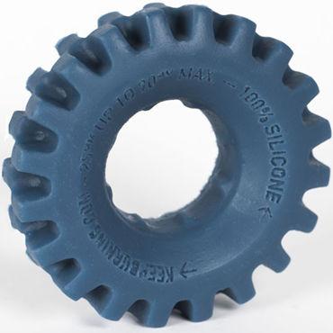 Keep Burning Pick Up, синее Эрекционное кольцо оригинальной формы