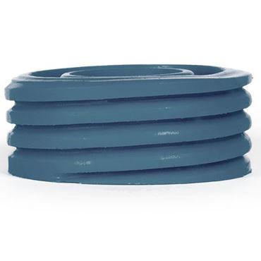 Keep Burning Bump, синее Эрекционное кольцо оригинальной формы