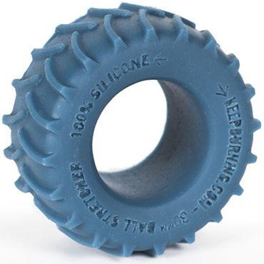 Keep Burning Tractor, синее Эрекционное кольцо оригинальной формы