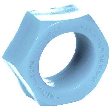 Keep Burning Эрекционное кольцо, голубое В форме гайки