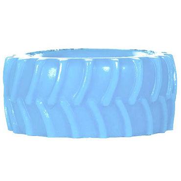 Keep Burning Tractor, голубое Эрекционное кольцо оригинальной формы