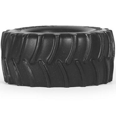 Keep Burning Tractor, черное Эрекционное кольцо оригинальной формы