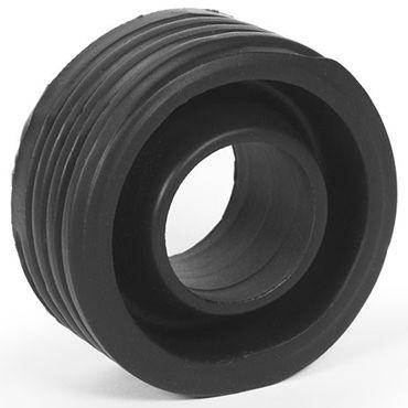 Keep Burning Bump, черное Эрекционное кольцо оригинальной формы