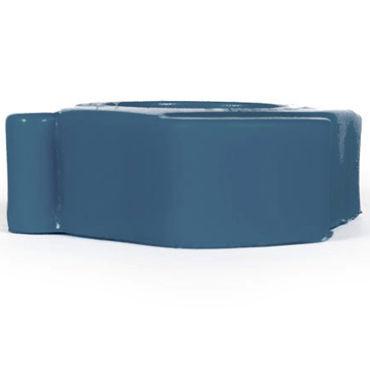 Keep Burning Cock Shift, синее Эрекционное кольцо оригинальной формы
