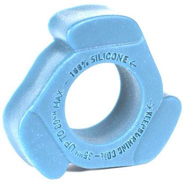 Keep Burning Cock Shift, голубое Эрекционное кольцо оригинальной формы