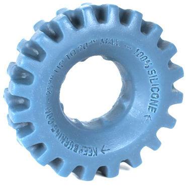 Keep Burning Pick Up, голубое Эрекционное кольцо оригинальной формы