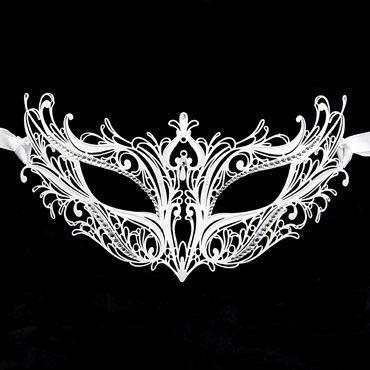 Luna Veneziana Adele Венецианская маска с кристаллами Swarovski
