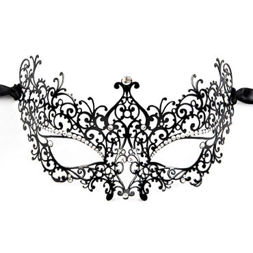 Luna Veneziana Rita Венецианская маска с кристаллами Swarovski