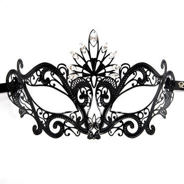 Luna Veneziana Luce Венецианская маска с кристаллами Swarovski