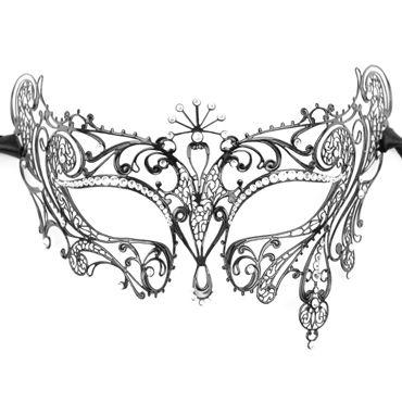 Luna Veneziana Diana Венецианская маска с кристаллами Swarovski