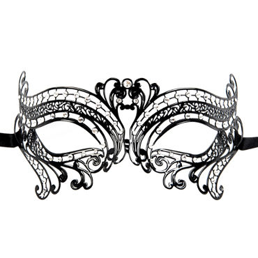 Luna Veneziana Margherita Венецианская маска с кристаллами Swarovski
