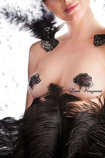 Luna Veneziana Ventaglio Украшение на грудь