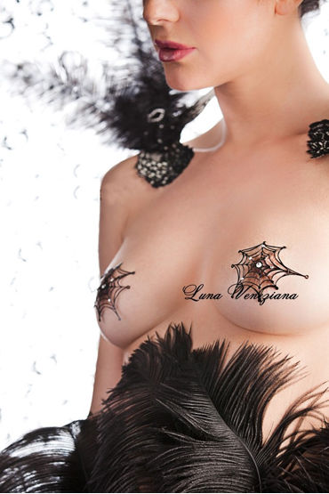 Luna Veneziana Ragnatele Украшение на грудь