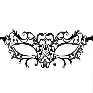 Luna Veneziana Aida Венецианская маска с кристаллами Swarovski