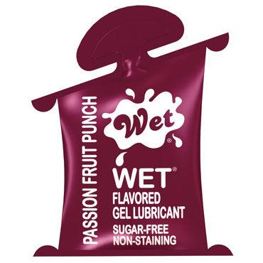 Wet Flavored Passion Fruit Punch, 10 мл, Лубрикант с ароматом тропических фруктов