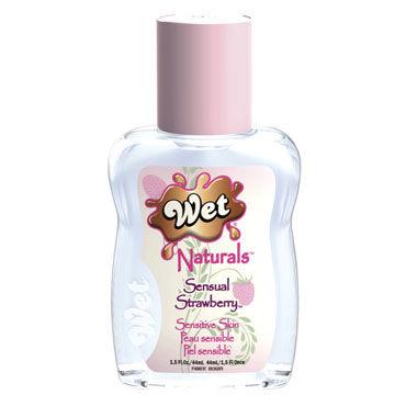 Wet Naturals Sensual Strawberry, 42мл, Лубрикант для чувствительной кожи