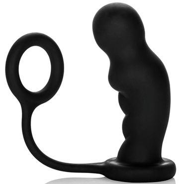 California Exotic Colt Commander Probe&Ring Стимулятор простаты с кольцом на пенис