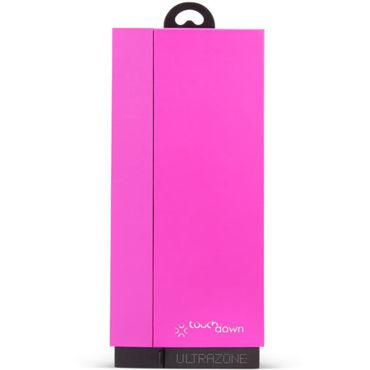 Topco U Touch Down, розовый Вибростимулятор изогнутой формы