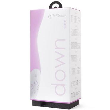 Topco U Touch Down, фиолетовый Вибростимулятор изогнутой формы