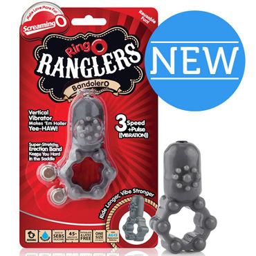 Screaming O The RingO Rangler Bandolero Эрекционное кольцо с виброэлементом