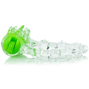 Screaming O Color Pop Quickie, зеленый Классическое кольцо с вибрацией