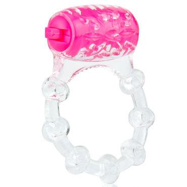 Screaming O Color Pop Quickie, розовый Классическое кольцо с вибрацией