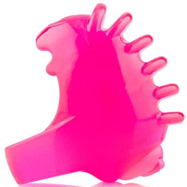 Screaming O FingO Tips, розовый Одноразовый стимулятор на пальчик