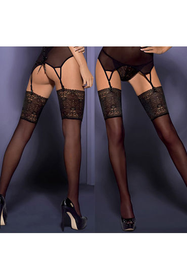 Obsessive Intensa Stockings, ����� � ������� ��������� �������� - ������ S/M
