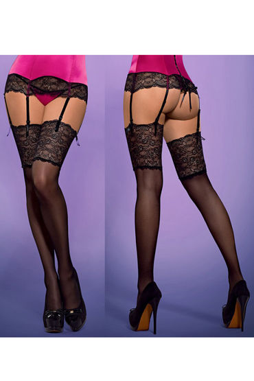 Obsessive Roseberry Stockings, ����� � ������� ��������� �������� - ������ S/M