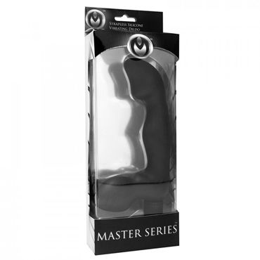 XR Brands Master Series, черный Женский безремневой страпон с вибрацией
