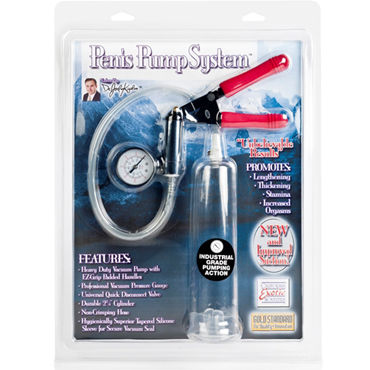 California Exotic Dr. Joel Kaplan Penis Pump System Вакуумная помпа с монометром