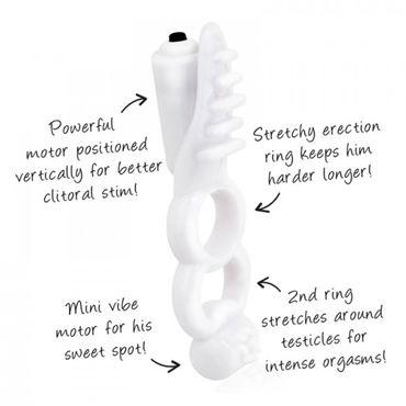 Screaming Orbit Plus Кольцо на пенис с двумя стимуляторами