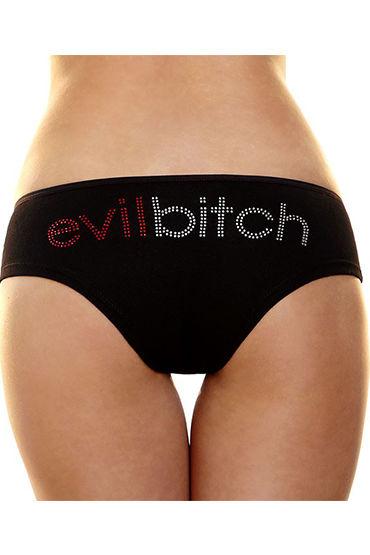 Hustler Lingerie Трусики-слипы ''evil bitch'' С надписью из страз