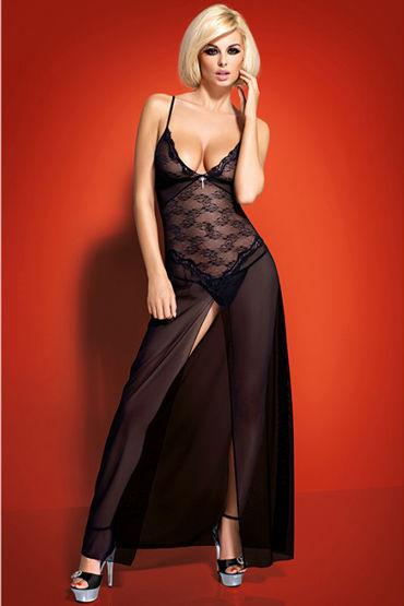 Obsessive Charms Gown Длинное платье с разрезом