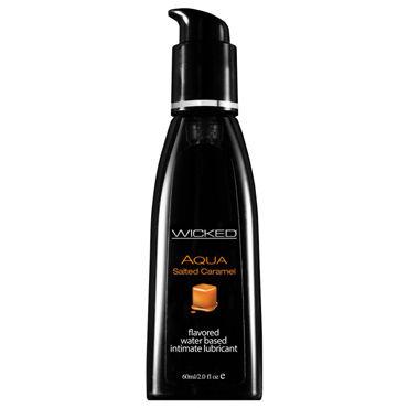 Wicked Aqua Salted Caramel, 60 мл С ароматом соленой карамели