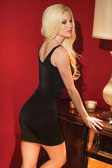 Coquette Платье, черное Двустороннее на бретелях