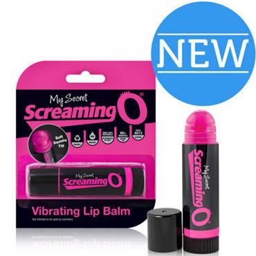 Screaming O Vibrating Lip Balm, розовый Вибратор в виде бальзама для губ