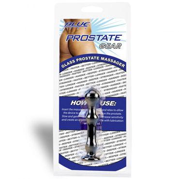 BlueLine Glass Prostate Massager, черный Массажер мини-размера