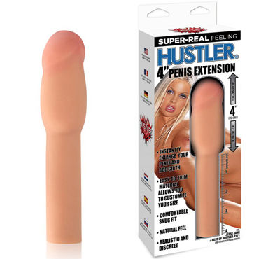 Hustler Насадка Jesse Jane by Hustler, телесный Для увеличения члена на 10 см