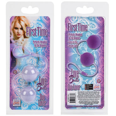 California Exotic First Time Love Balls, фиолетовый Вагинальные шарики