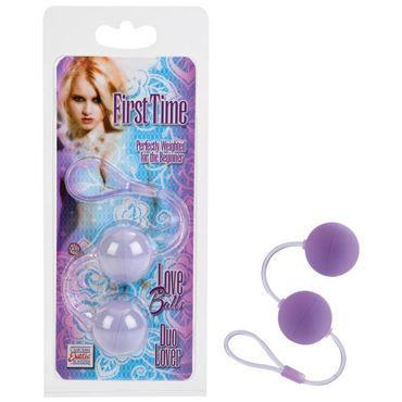 California Exotic First Time Love Balls, фиолетовый, Вагинальные шарики