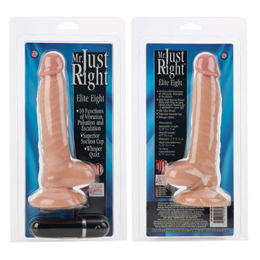 California Exotic Mr. Just Right Super Seven 16 см Реалистичный вибратор