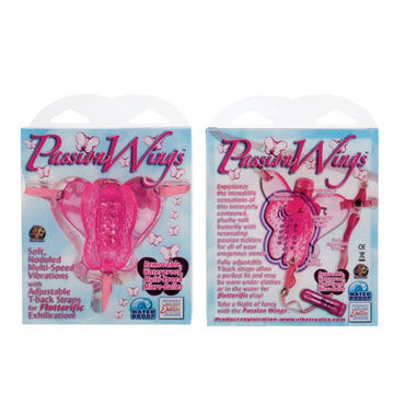 California Exotic Passion Wings, розовый Клиторальный стимулятор с вибрацией