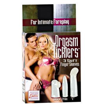 California Exotic Orgasm Ticklers Насадки на пальцы