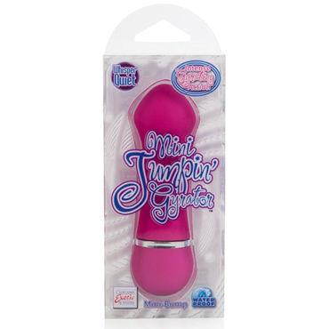 California Exotic Mini Jumpin Gyrator Mini-Bumps, розовый Мощный минивибратор с увеличенной головкой