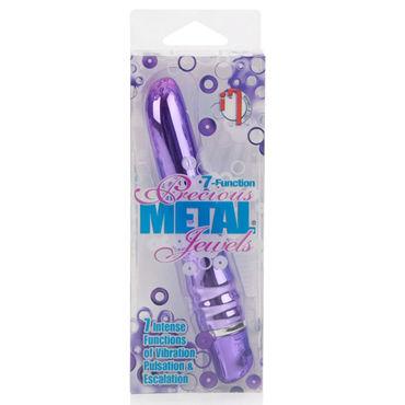 California Exotic Precious Metal Jewels, фиолетовый Вибратор с металлическим покрытием